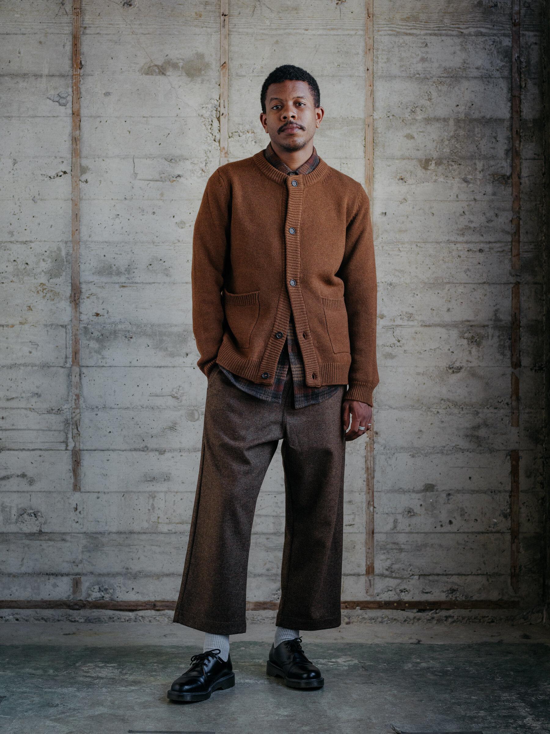 evan-kinori-crewneck-cardigan-sweater-cashmere-lambswool-made-in-italy-1