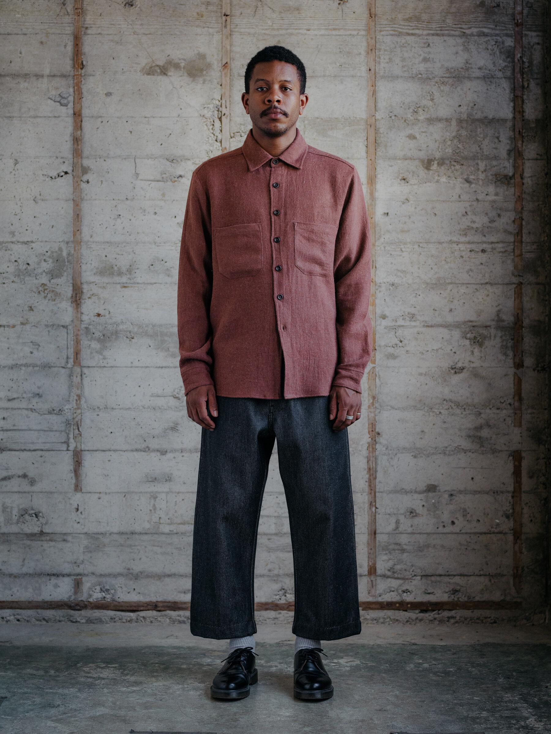 evan-kinori-two-pocket-shirt-linen-wool-twill-woven-in-japan-1