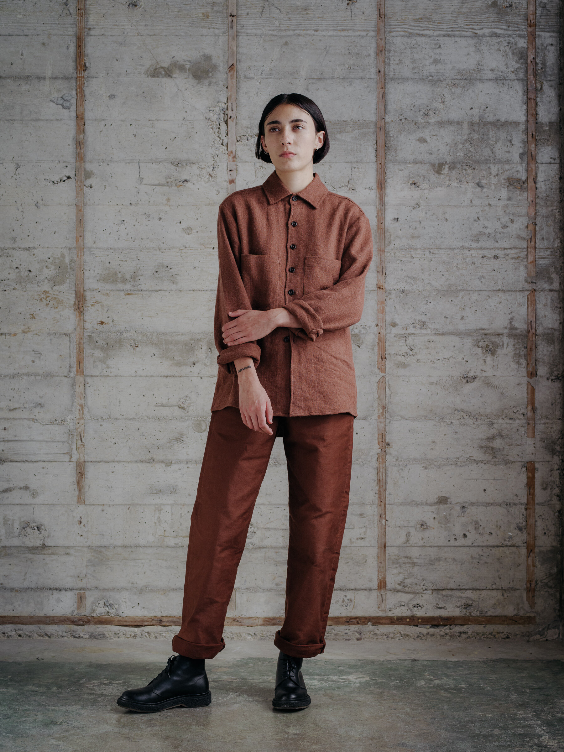 evan-kinori-two-pocket-shirt-linen-wool-twill-woven-in-japan-7
