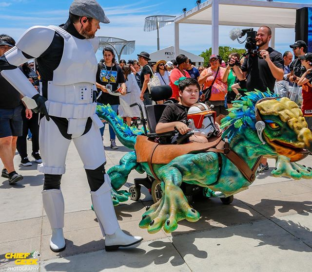 Have you heard the good news? We're heading to San Diego Comic-Con!  We are overjoyed with the opportunity to share some magic and raise awareness about Magic Wheelchair at such an amazing event! Click the link in our bio to DONATE and come visit us at Booth 3245.  #sandiegocomiccon #sdcc50 #magicwheelchair #cosplay #makingsmiles #positivity #comiccon #sandiego #charity #change #dogood #nonprofit #volunteer #fundraising