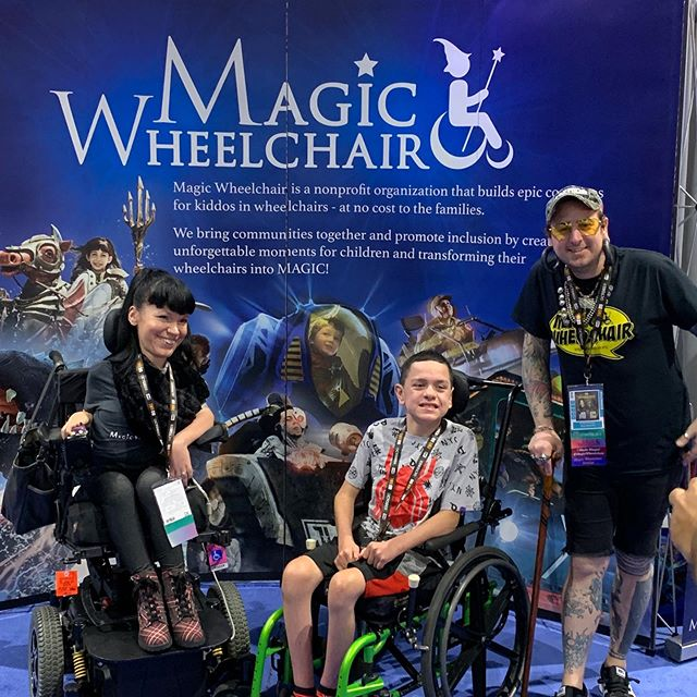 Today is the big day! We are so excited to reveal our Batmobile magic wheelchair to Jaiden at San Diego Comic-Con. Join us at 9:30am for this epic unveiling!  Location: Comic-Con Museum 2131 Pan American Plaza, San Diego, CA 92101  #sdcc #sdcc2019 #sdcc50th #sandiegocomiccon #batmobile #charity