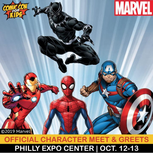 Official Character Meet & Greets at Philly Expo center October 12 & 13