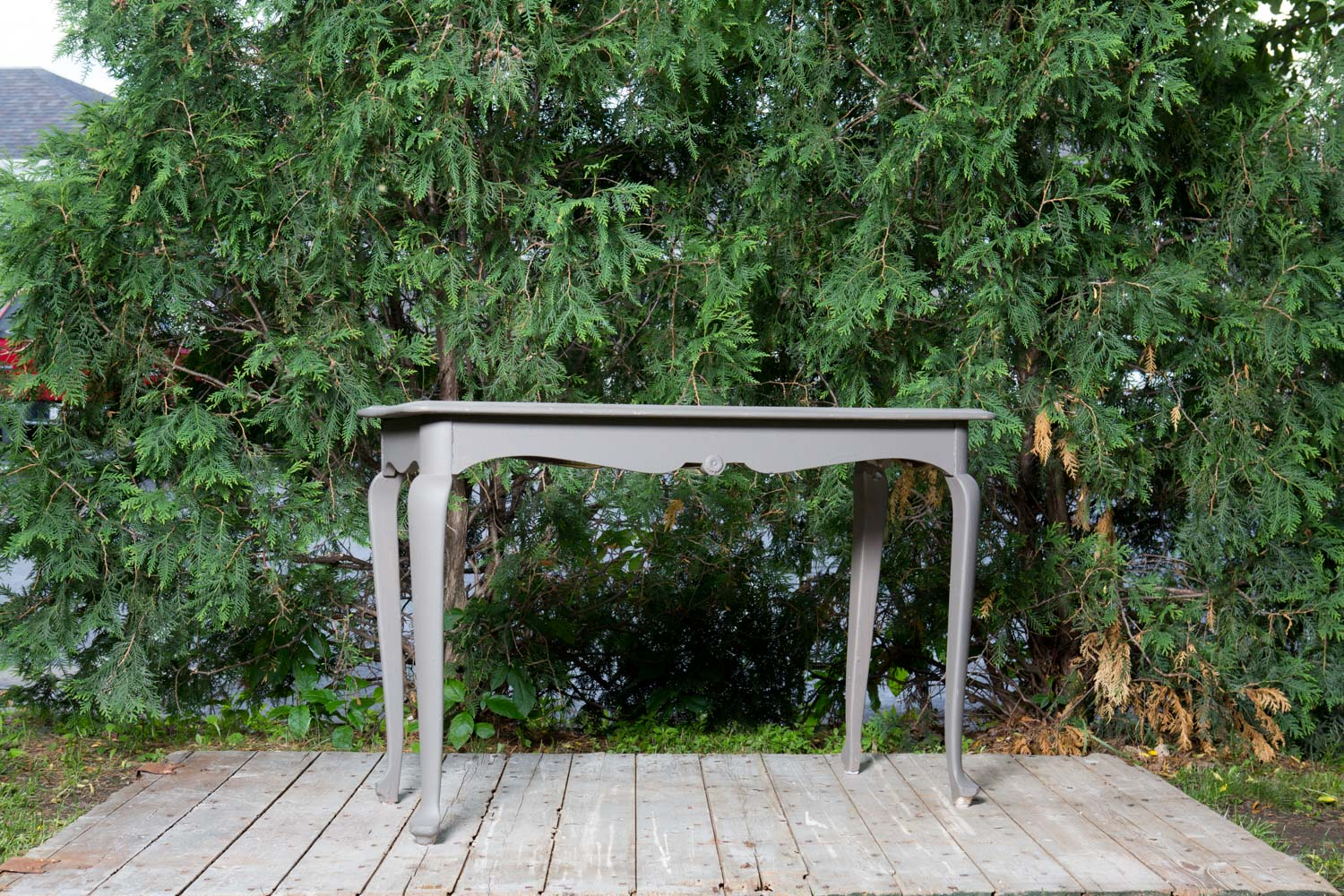 Gray Console Table 25-