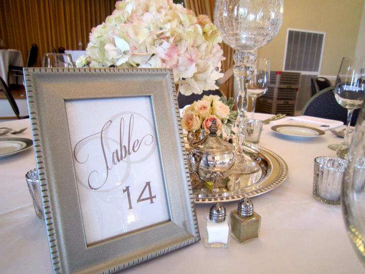 TABLE NUMBERS + SIGNS
