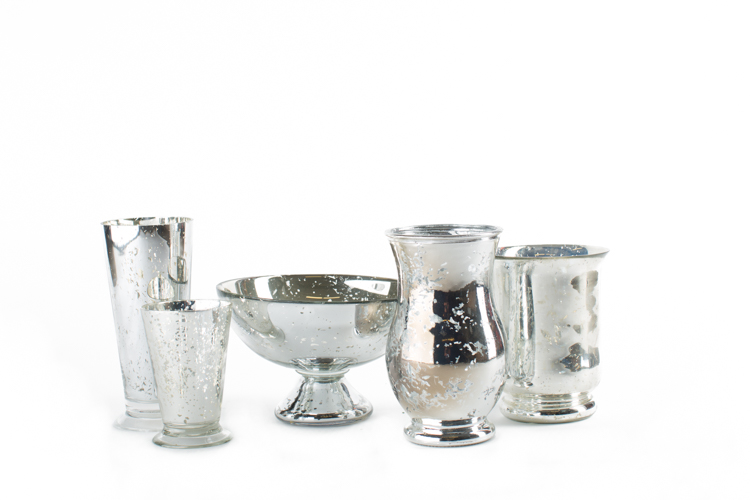 Mercury Glass Collection 2-, 3-, 4- ***