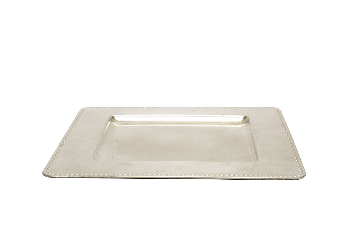 Square Champagne Charger 1.25
