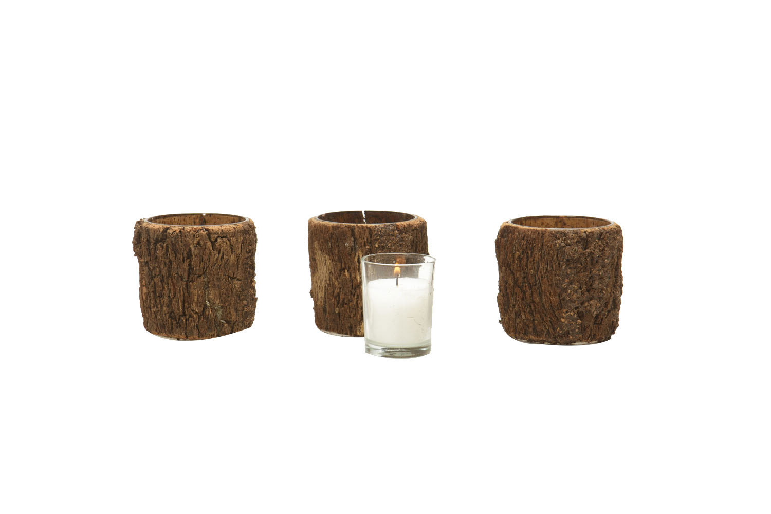 Wood Votive 2-