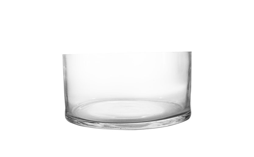 Low Glass Bowl 4-