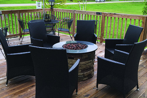 Fire Table + Chairs 290-