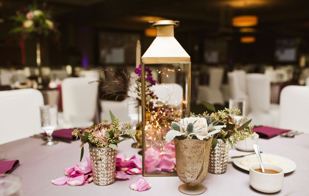 PRECIOUS METALS    Metallic accents make any event feel extra special. View our collection here.