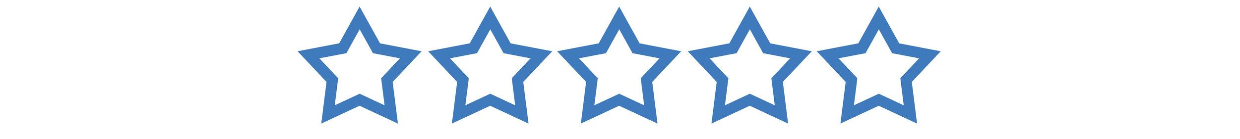 5-STAR CUSTOMER SERVICE