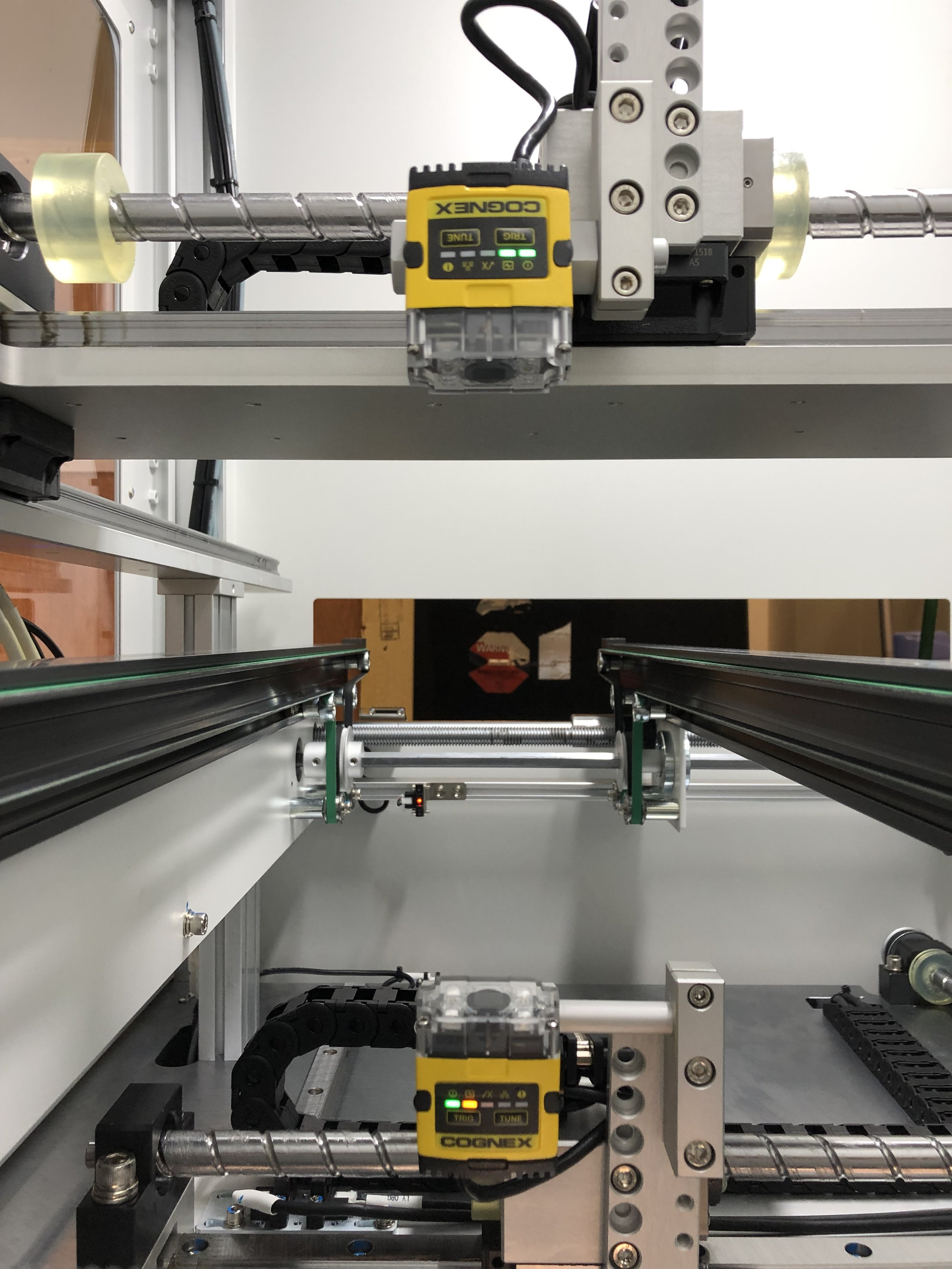 PROMATION Automated Scanning Cognex MES Communication