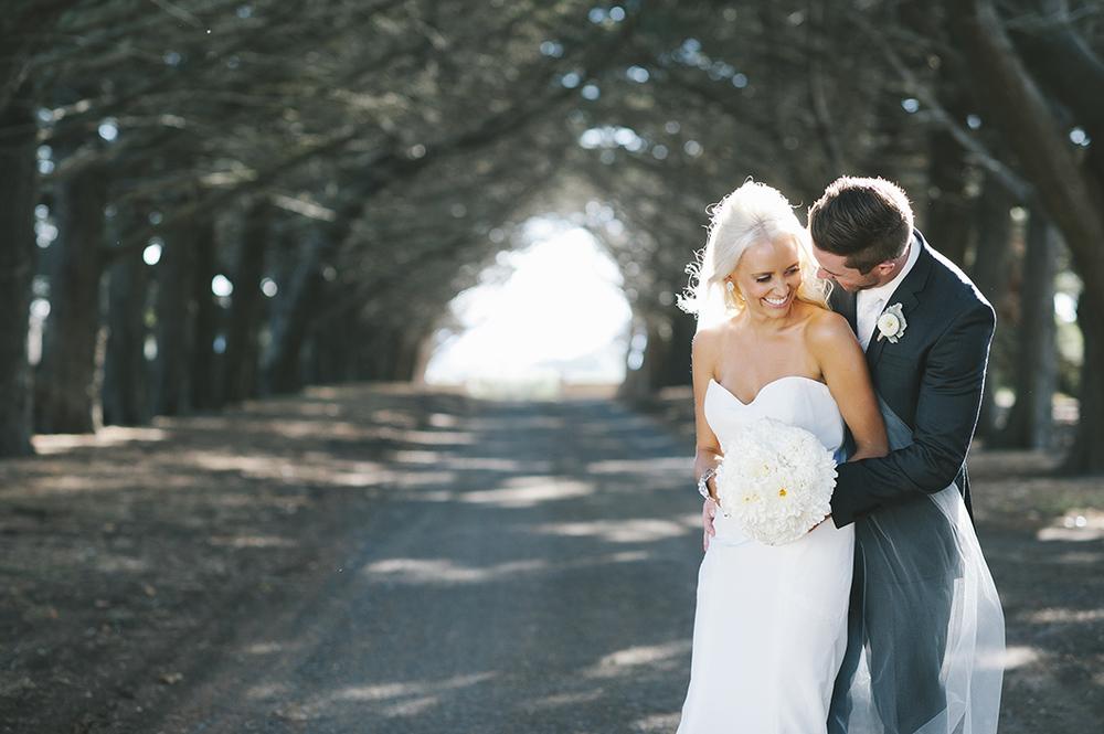 Kristy + Wayne      Real Wedding     Bellarine Peninsula