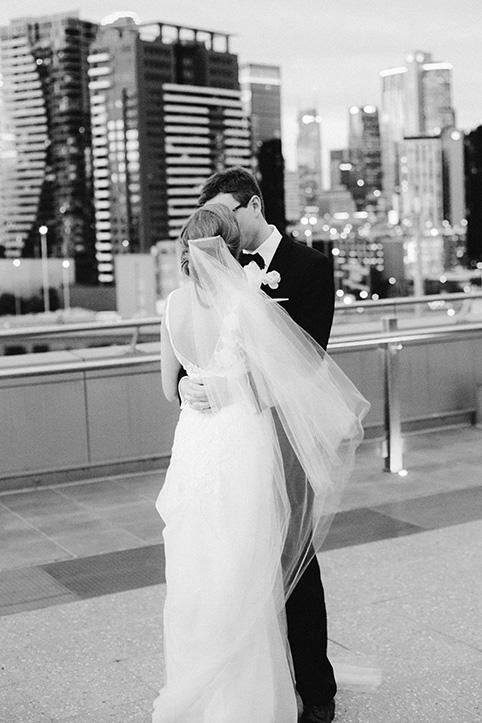 Amanda + Tom      Real Wedding     Luminare