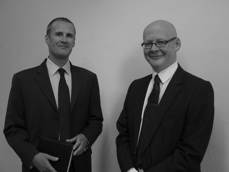 Andrew Scathcard and Robert Minors Wilson Bramwell Solicitors Harrogate
