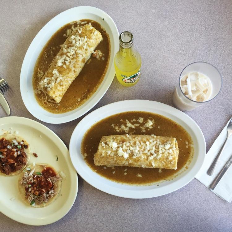 el taco de mexico burrito