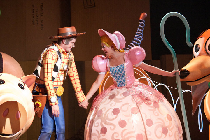Bo Peep in Toy Story: The Musical