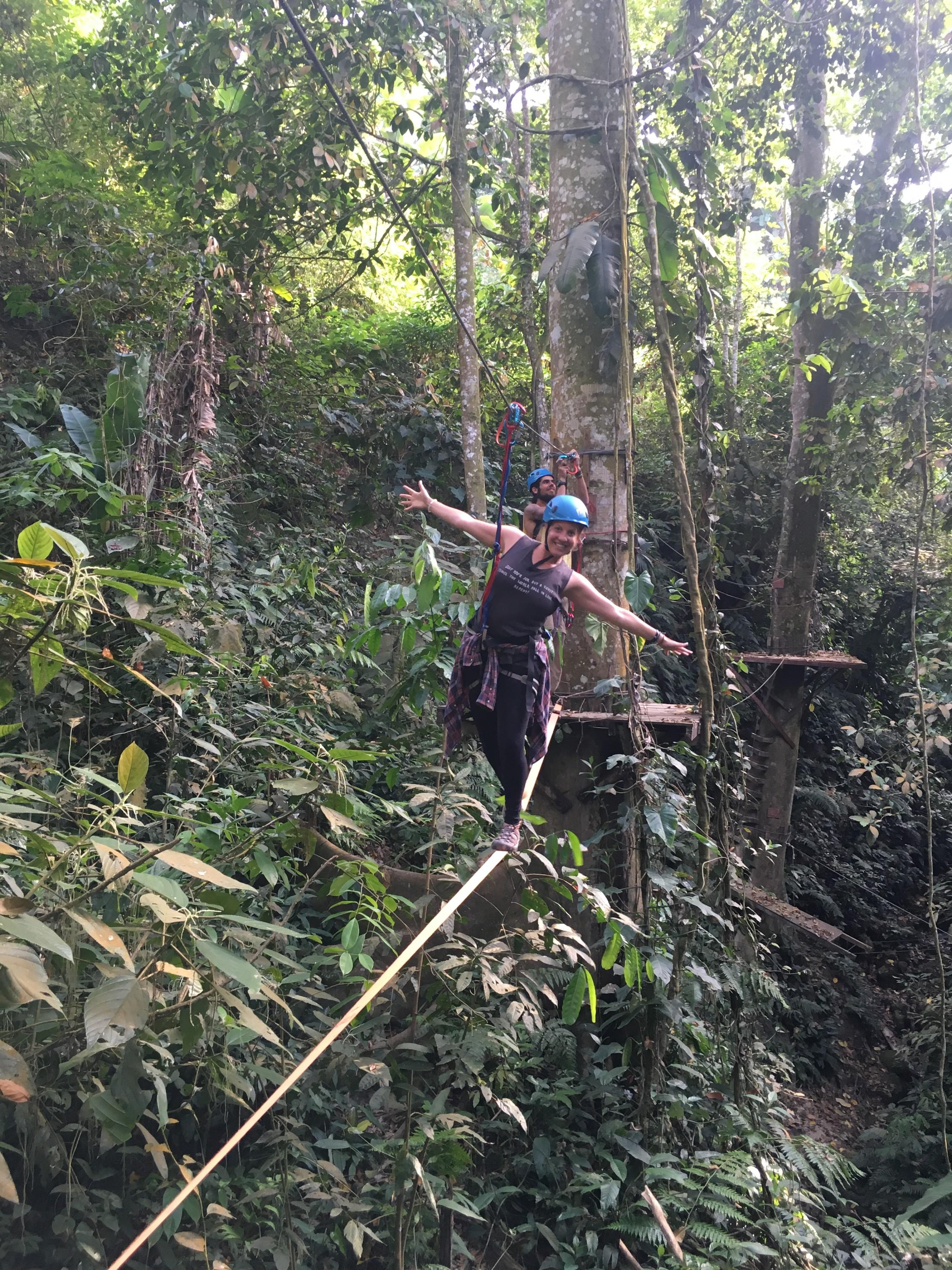 Ropes Course at Casa Elemento