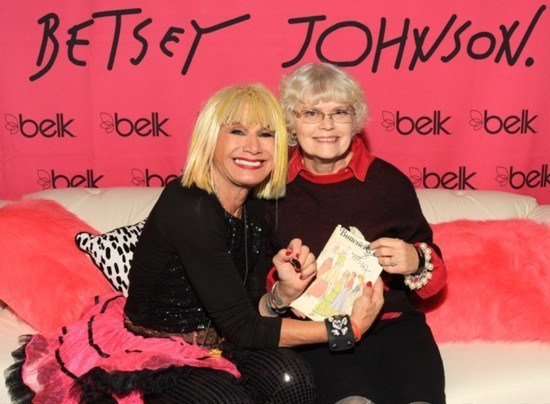 Betsey Johnson got to meet Lizzie!