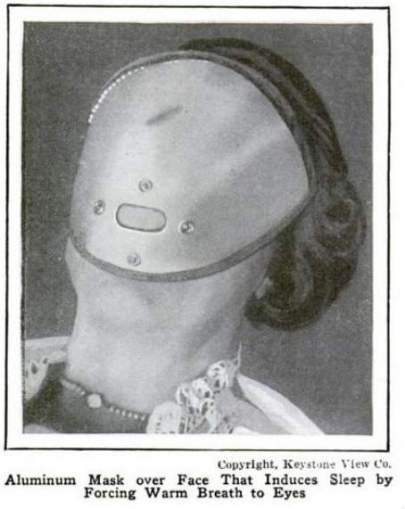 Looks like something that would provide a really long sleep. (Popular Mechanics, 1924)