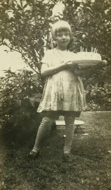 Mama at age six