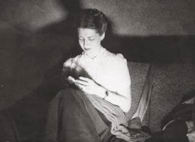Knitting... (ca. 1950)