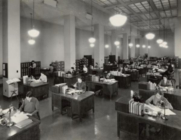 20th century workplace