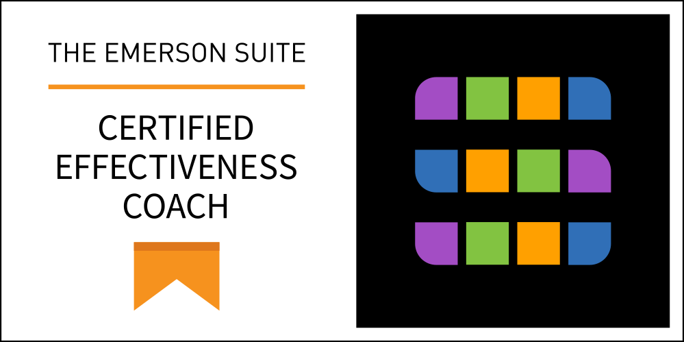 The emerson suite assists clients in tracking progress toward performance goals with metrics