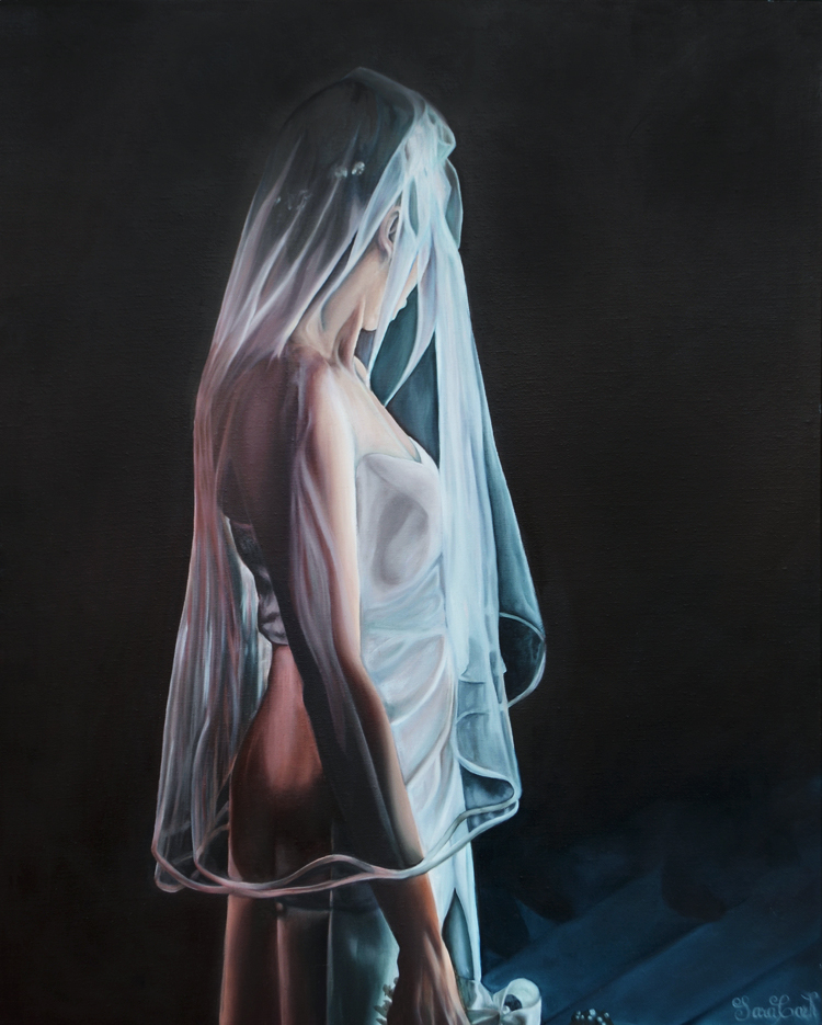 LINA KATSMAN , oil on canvas, 24 x 30 inches
