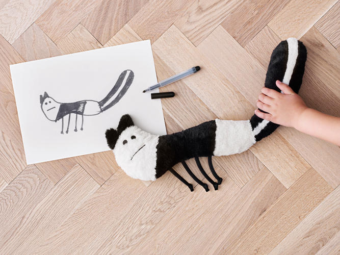 One of the ten winners of the IKEA design competition.