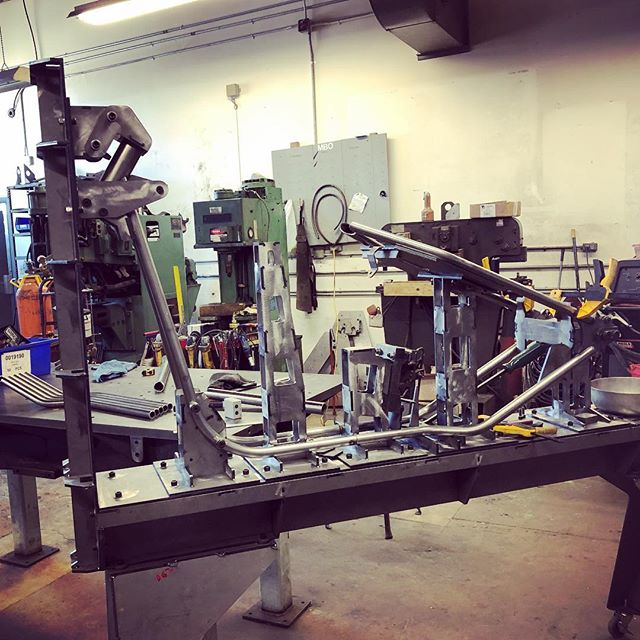 Tim's killing it on our production frames, the last details are finalized and these will be in stock soon and ready ship!