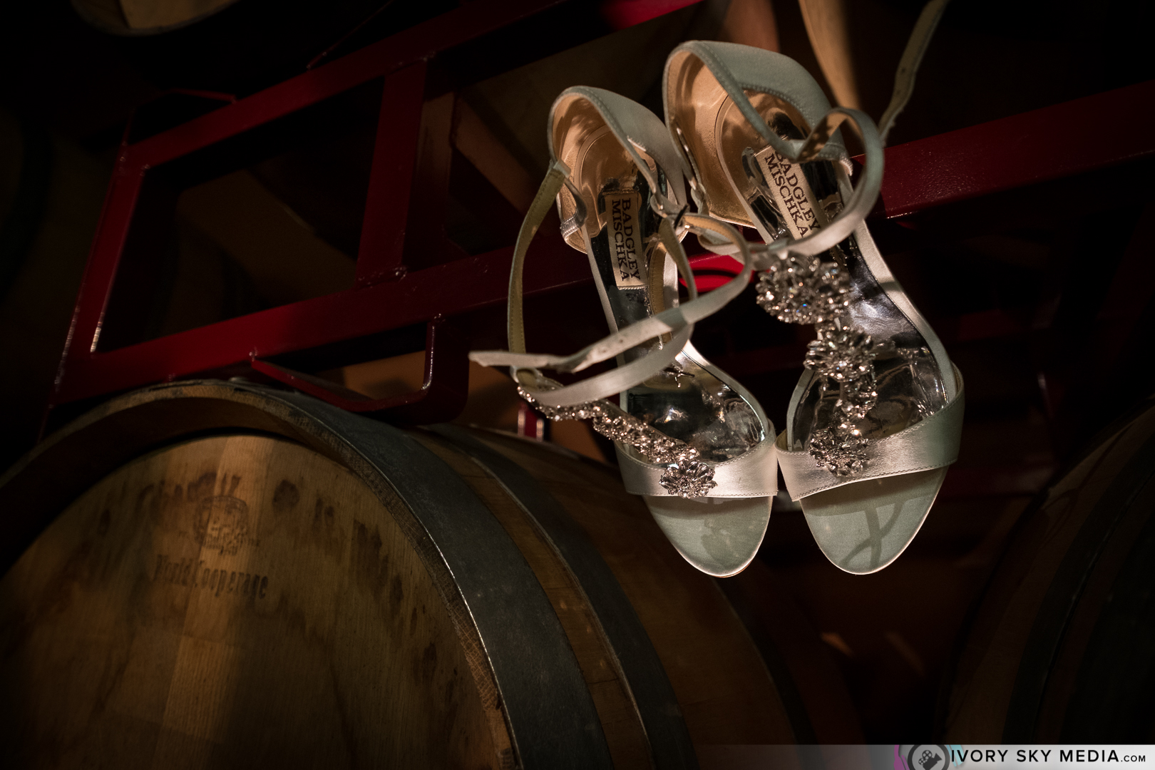 Wine and wedding shoes, don't mind if I DO.