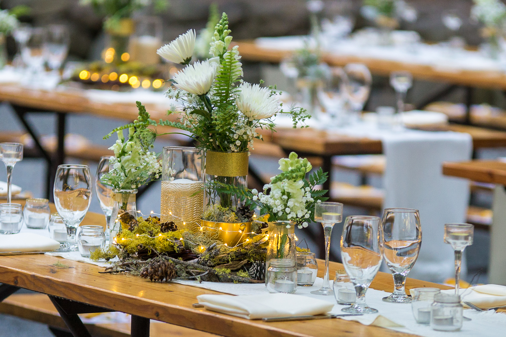 Beautiful forest themed decor
