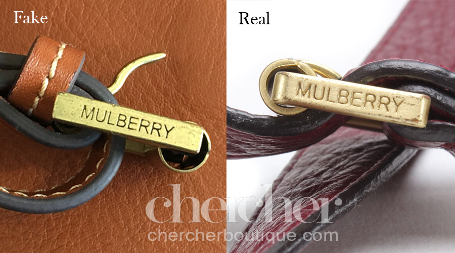 The engraving on the fake buckle is different from the real one but it is relatively nicely done.