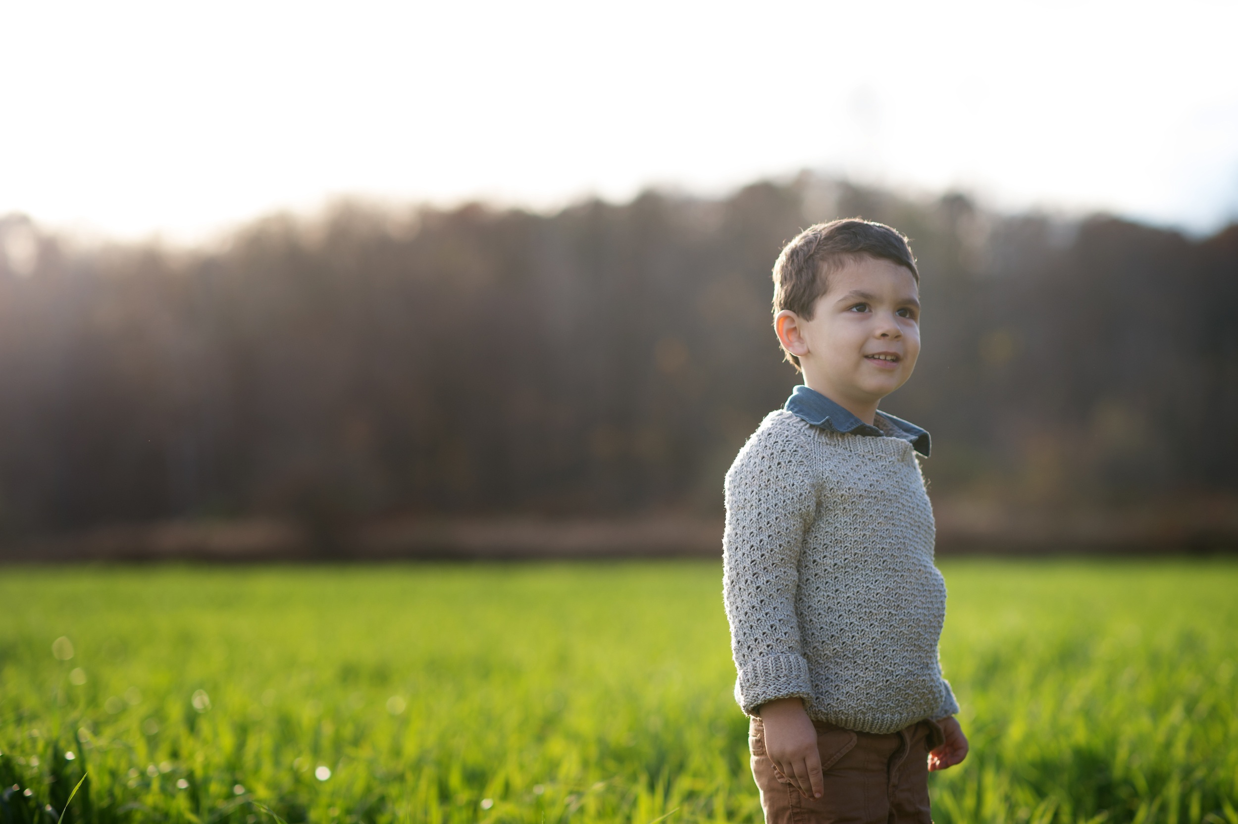 And... one from our family photo session. Apparently this is what Ohio in November looks like.