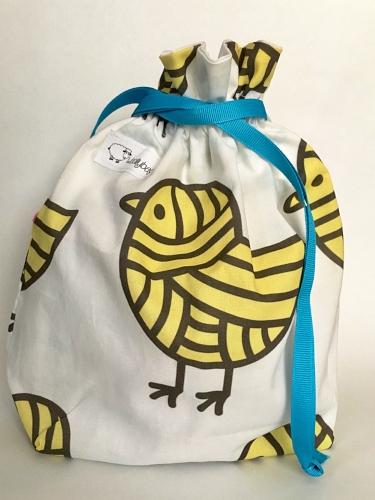 woolly bags for knittin' little