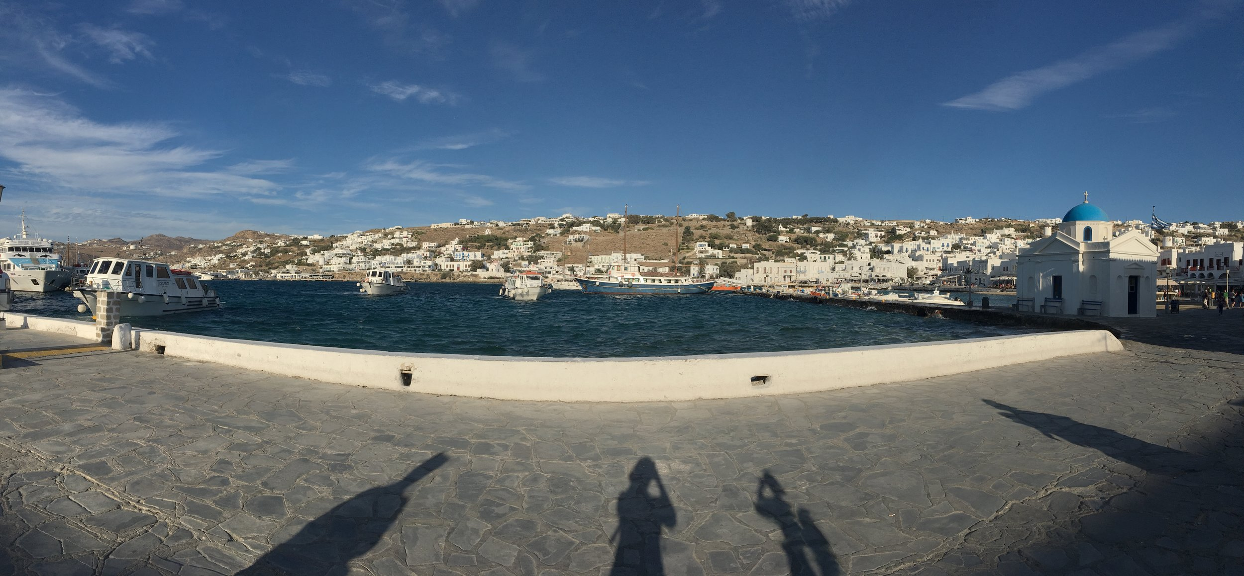 What a wonderful world. All the heart eyes for this amazing view. Mykonos,  Greece