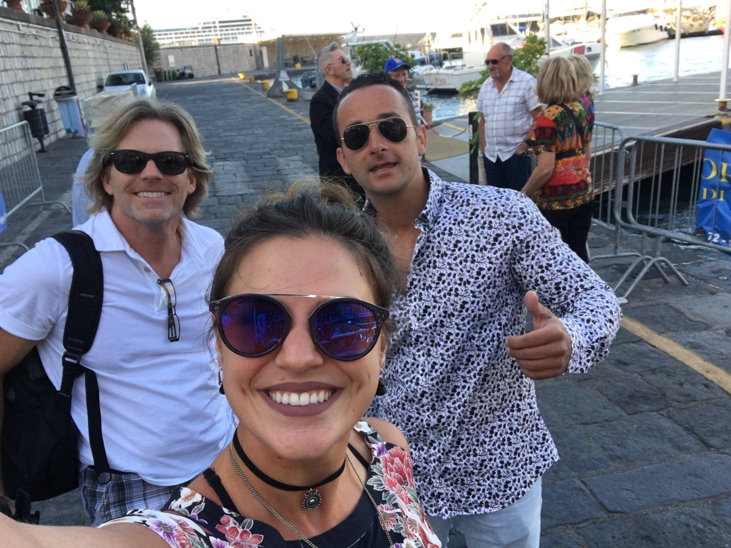 ARTWAVE SQUAD! Love you guys. Sorrento,  Italy