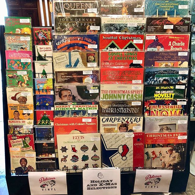Now in our booth get your Xmas Music Vibe On! Large selection of Vintage Christmas Records, Cassettes and CD's!!! #VintageSalvation #DollyPython #VintageRecords #VintageChristmasRecords #ChristmasCDs #christmascassettes #vintageholidaymusic #ChristmasMusic #holidaymusic #VintageChristmasmovies #VintageVHSTapes #VintageRecordShop #VintageRecordStore #VintageDallas #DallasRecordstore #VintageMusic