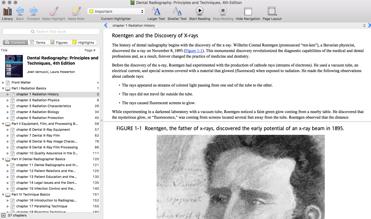 Example of Pageburst app