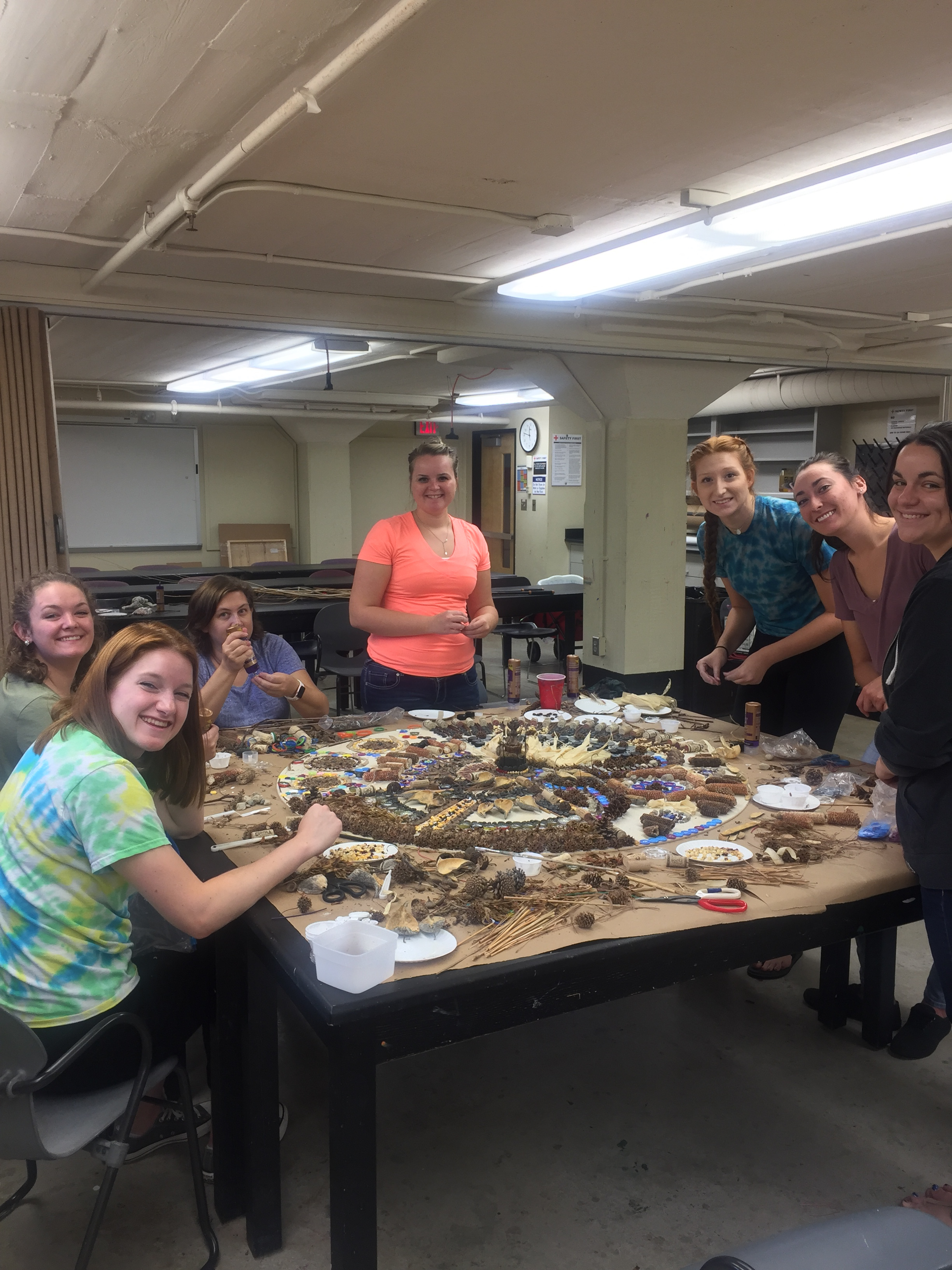 St. Francis Art Education students.