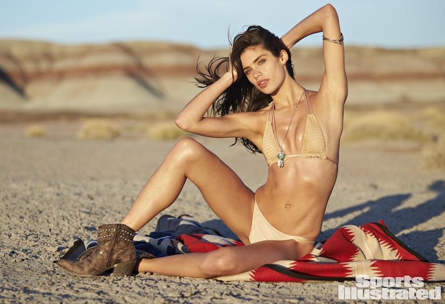 Taupe color thong bikini