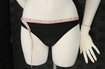 Measurement #4-the point near the hip where you would like the bottoms to sit