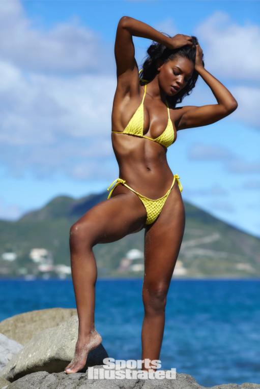 Jasmyn Wilkins Sports Illustrated Swimsuit 2018