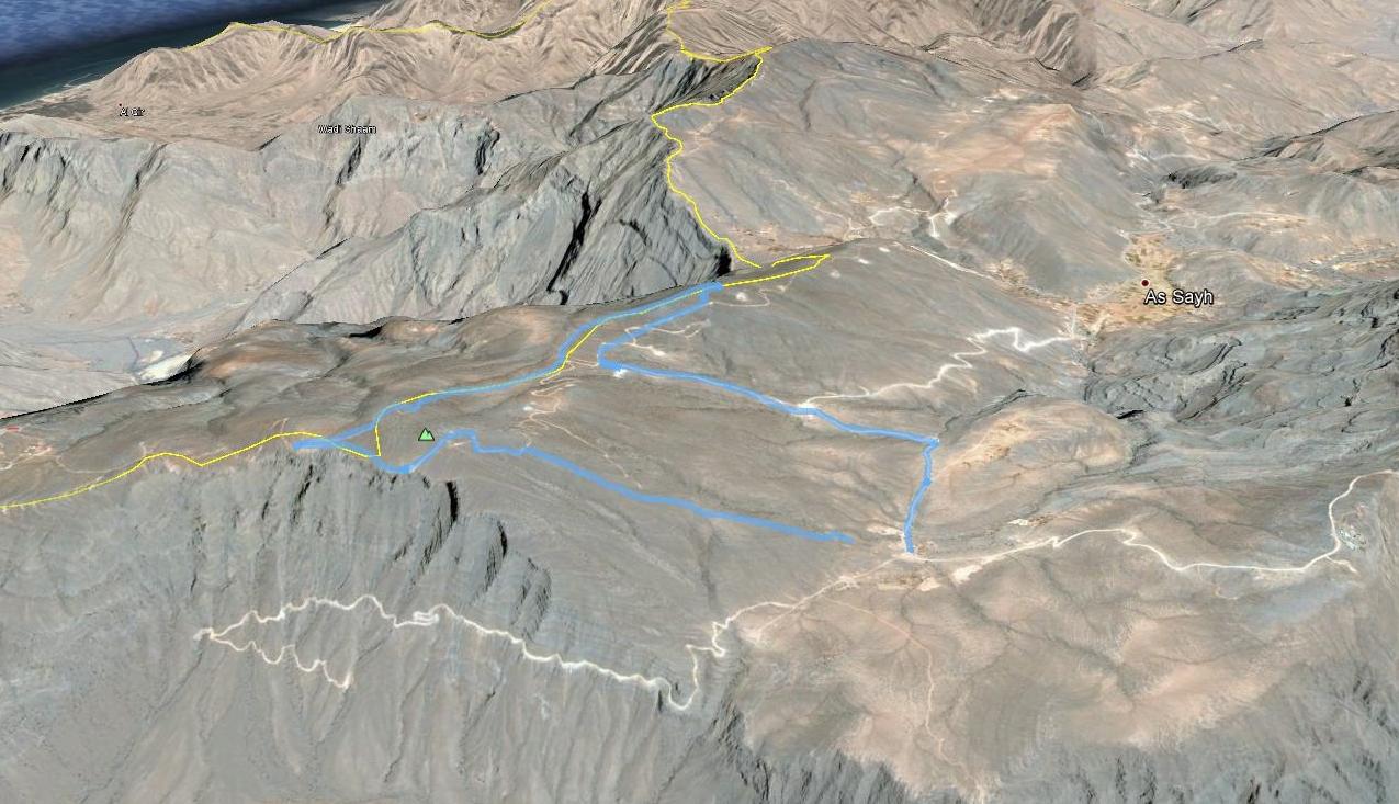 Jebel hiked near As Sayh