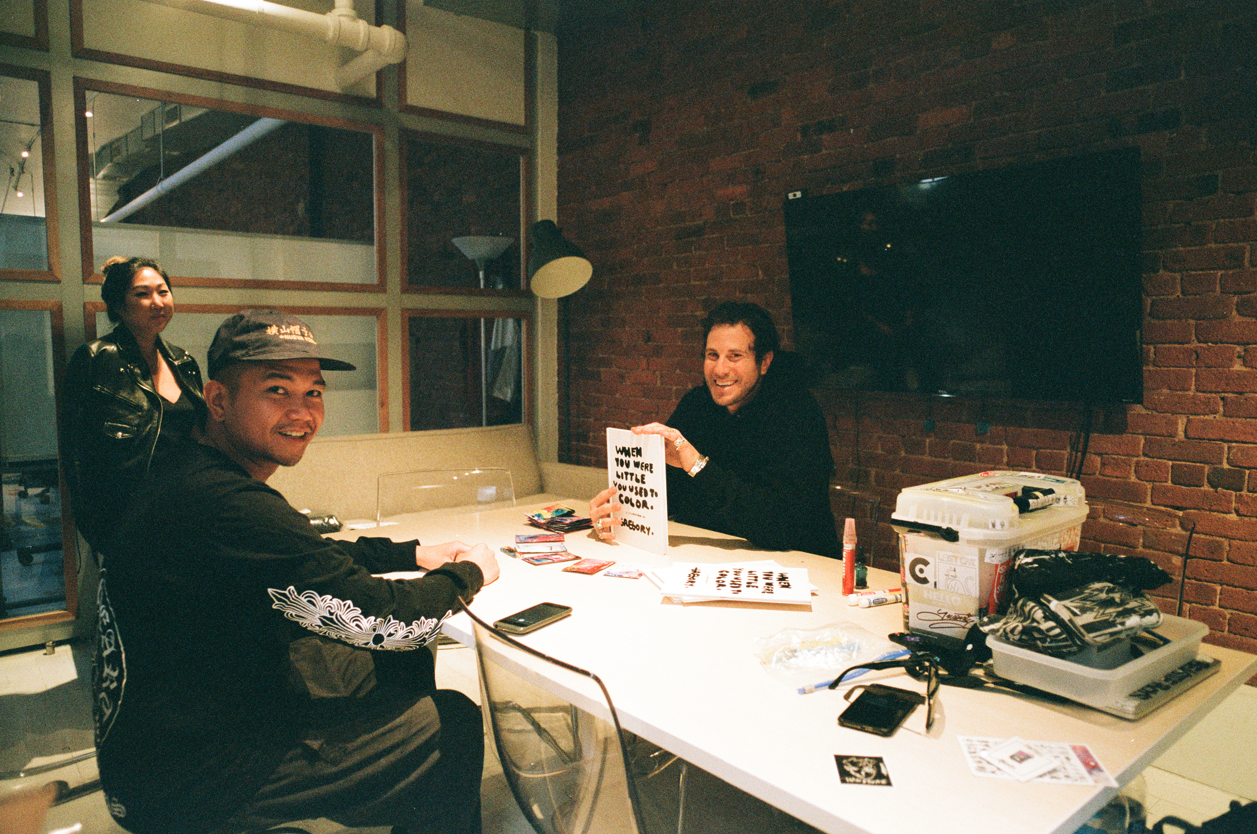 Gregory Siff at Hypebeast headquarters