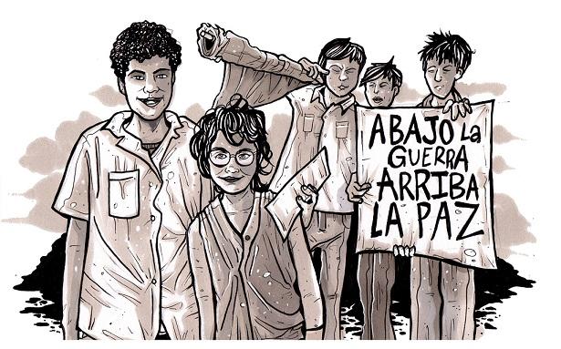 Arriba La Paz, Cristy C. Road