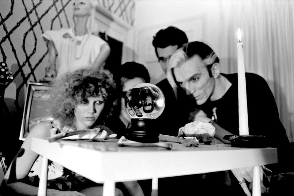 The Cramps at the Tropicana Motel, 1978. Photo by Theresa Kereakes
