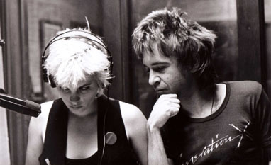 Penelope Houston and Rodney Bingenheimer, photo by Theresa Kereakes