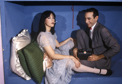 """Nicole as """"Susan"""" on Pee Wee's Playhouse, photo by Ronn Spencer"""